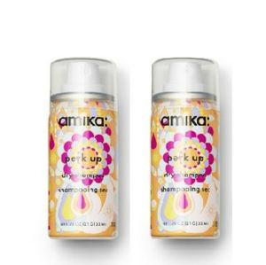 2× Amika Perk Up Mini Dry Shampoo Set